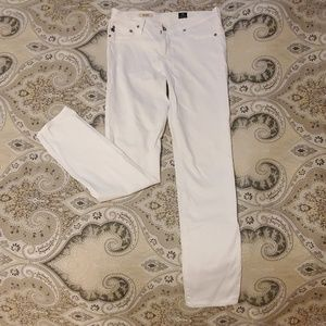 AG Adriano Goldschmied White Pants